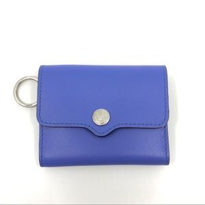 Rebecca Minkoff blue leather 'molly metro' wallet